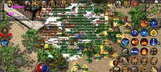 全新韩单职业传奇里版万人对战地图